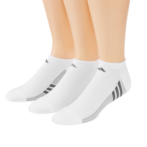 adidas® 3-pk. climacool® Superlite No-Show Socks - Big & Tall
