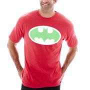 Novelty Batman Logo Tee-Big & Tall