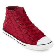 Converse Chuck Taylor Dainty Womens Quilted Mid Sneakers