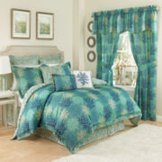 Waverly® Marine Life 4-pc. Reversible Comforter Set