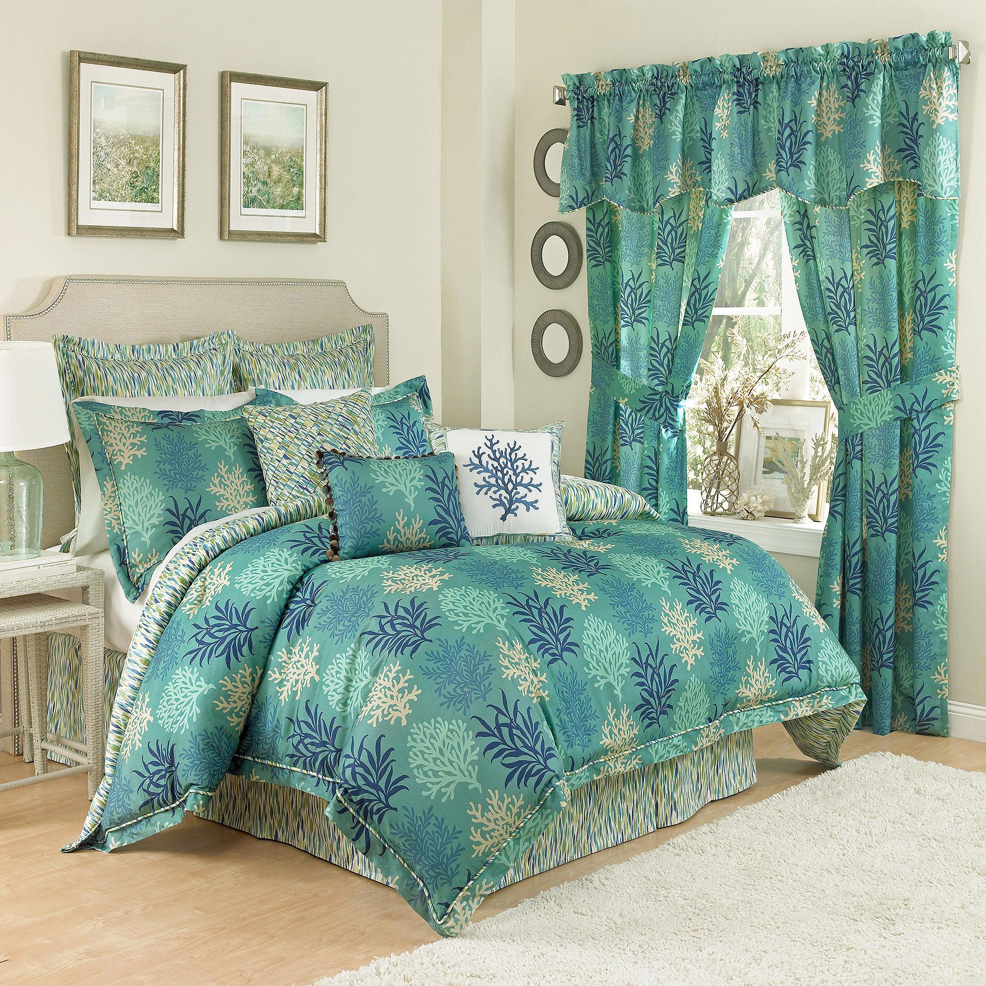 Waverly Marine Life 4-pc. Reversible Comforter Set