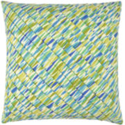 Waverly® Marine Life Pleated Square Decorative Pillow