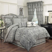 Waverly® Paisley Pizzazz 4-pc. Reversible Comforter Set