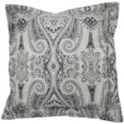 Waverly® Paisley Pizzazz Reversible Square Decorative Pillow