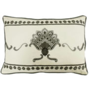 Waverly® Paisley Pizzazz Embroidered Oblong Decorative Pillow