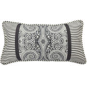Waverly® Paisley Pizzazz Pieced Oblong Decorative Pillow