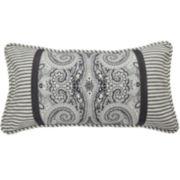 Waverly® Paisley Pizzazz Pieced Oblong Decorative Pillow