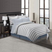 Palmer Stripe Complete Bedding Set with Sheets