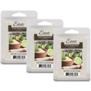 Estate™ Set of 3 Wax Melts – Lime Sugarcane