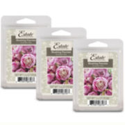 Estate™ Set of 3 Wax Melts – Blushing Peonies