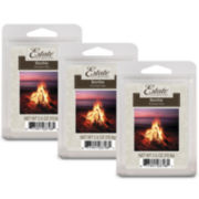 Estate™ Set of 3 Wax Melts – Bonfire