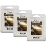 Estate™ Set of 3 Wax Melts – Hazelnut Cream Macchiato