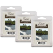 Estate™ Set of 3 Wax Melts – Black Coconut Sands