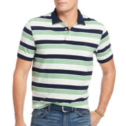 IZOD® Short-Sleeve Jacquard Polo