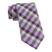 Van Heusen® Got It Gingham Slim Silk Tie
