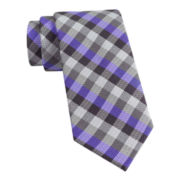 Van Heusen® Got It Gingham Slim Silk Tie