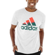 adidas® Logo Gradient Graphic Tee