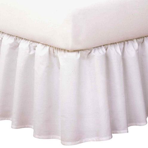 """Magic Skirt 14"""" Wrap Around Ruffled Bedskirt"""