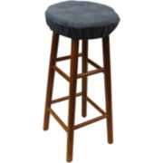 The Gripper® Delightfil® 4-Tack Barstool Cover