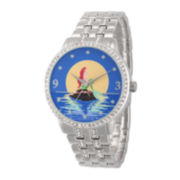 Disney Ariel Womens Moon Bracelet Watch