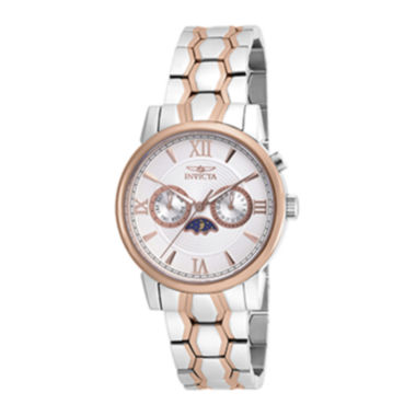 jcpenney.com | Invicta® Specialty Mens 40mm Stainless Steel and Rose Gold Bracelet Watch 18092