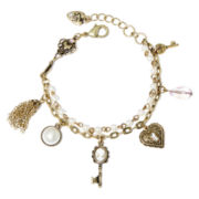 Messages from the Heart® by Sandra Magsamen® Cameo Key Bracelet