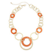 Mixit™ Orange Shell Necklace