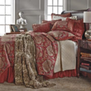 HiEnd Accents Lorenza 4-pc. Comforter Set & Accessories