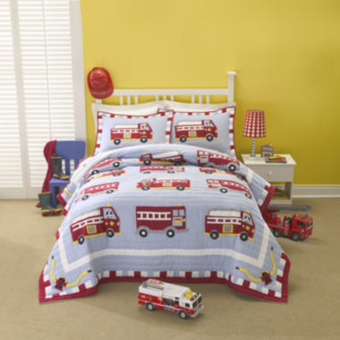 jcpenney.com | My World Fire Truck Quilt Set