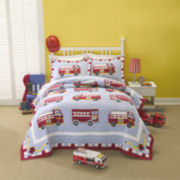 My World Fire Truck 3-pc. Quilt Set
