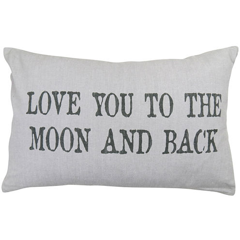 Park B. Smith® Love You To The Moon and Back Decorative Pillow