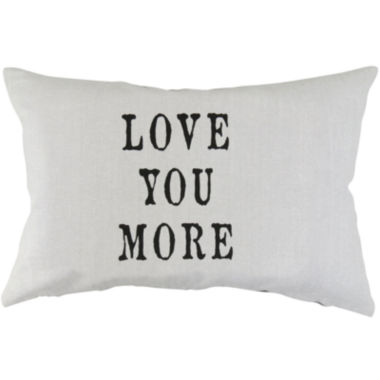 jcpenney.com | Park B. Smith® Love You More Decorative Pillow