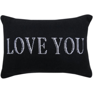 jcpenney.com | Park B. Smith® Love You Writing Decorative Pillow