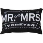 Park B. Smith® Mr and Mrs Forever Decorative Pillow
