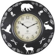 Lodge Collection Wall Clock