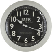 Paris Slim Wall Clock