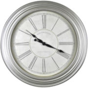 Champagne Chic Wall Clock