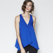 BELLE + SKY™ Sleeveless High-Low Top