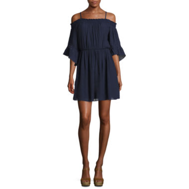 jcpenney.com | by&by Byer Off Shoulder Smocked Dress
