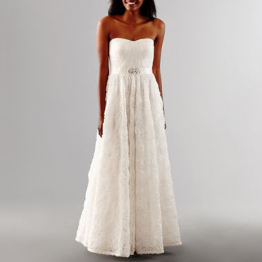 jcpenney.com | One By Eight Beaded Wedding Gown