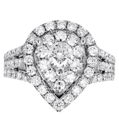 jcpenney.com | LIMITED QUANTITIES! 2 CT. T.W. Round White Diamond 14K Gold Engagement Ring