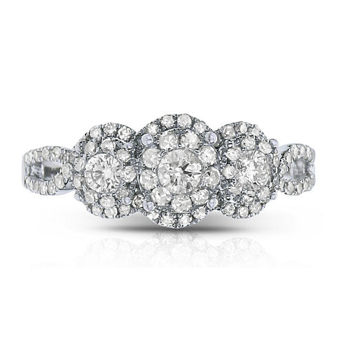 LIMITED QUANTITIES! 5/8 CT. T.W. Round White Diamond 14K Gold Engagement Ring