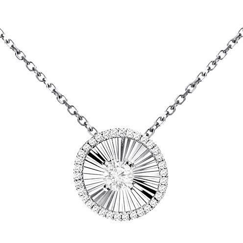 LIMITED QUANTITIES! 1/5 CT. T.W. White Diamond 14K Gold Pendant Necklace