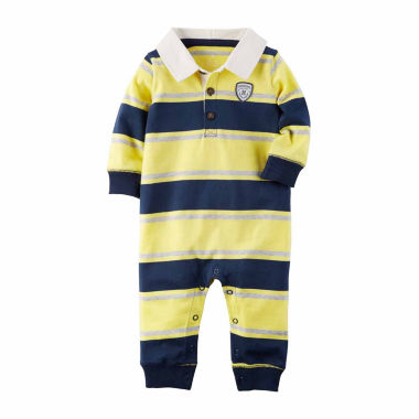 jcpenney.com | Carter's Long Sleeve Romper - Baby