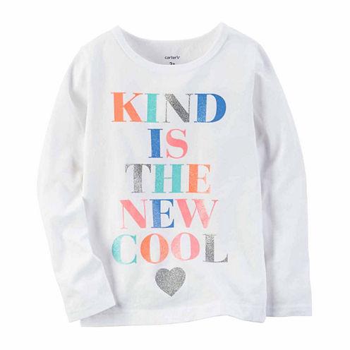 Carter's Long Sleeve T-Shirt-Baby Girls