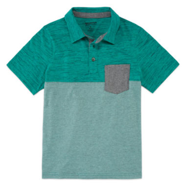 jcpenney.com | Arizona Short-Sleeve Textured Polo - Boys 8-20 and Husky
