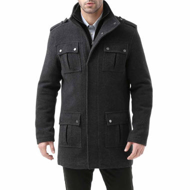 jcpenney.com | David Wool Blend Military Peacoat Jacket