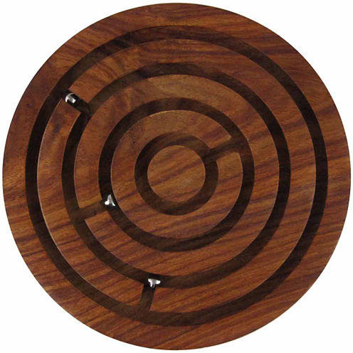Totes Mini Wood Labrynth