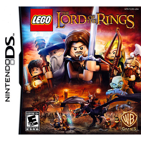 Lego Lord Of The Rings Nds Video Game-Nintendo 3DS