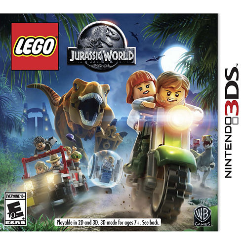 Lego Jurassic World Video Game-Nintendo 3DS